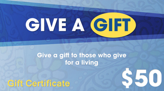 Gift Certificate GIFTC50S30829 STDC30829
